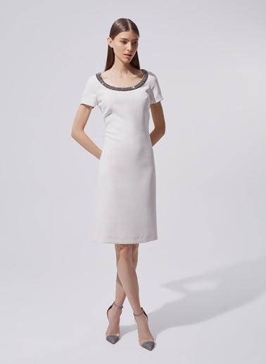 Dilek Hanif Elbise Beyaz